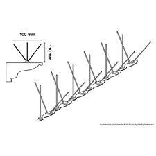 DEPIGEONAL 10 mt Meters ULTRA 2 Bird Pigeon Spikes Wall Fence Deterrent wildlife