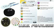 U.S.S. FEARLESS #101 Star Trek: Tactics II Wizkids HeroClix