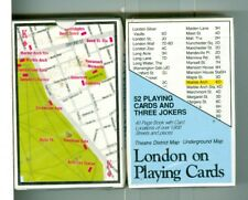 "Sealed Deck of Playing Cards ""London Map"" by Y & B Associates"