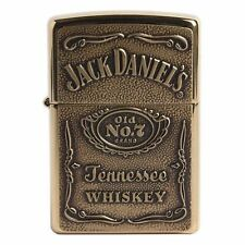 Zippo 254BDJ Jack Daniels Gold Lighter Made in USA /GENUINE and ORIGINAL Packing