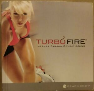 Turbo Fire Intense Cardio Conditioning 11-disc Dvd set free shipping