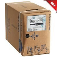 Narvon 5 Gallon Bag in Box Tonic Beverage Soda Syrup Fast Shipping Restaurant