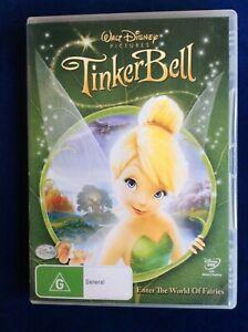 TinkerBell - Region 4 DVD - Disney - Great Condition - FREE POST