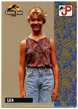 Lex #15 Jurassic Park 1993 Topps German Trade Card (C1271)