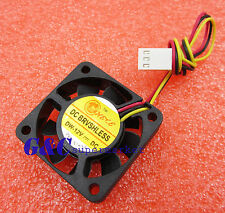 5PCS NEW Computer CPU Cooler Cooling Fan 3Pin 4cm PC 4cm 40x40x10mm DC 12V