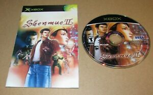 Shenmue II (Game & Manual Only) Xbox Fast Shipping