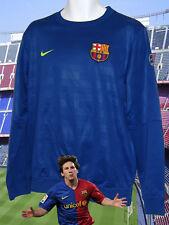 Nuevo Nike Barcelona club de Fútbol Manga Larga Entrenamiento Sudadera Azul M