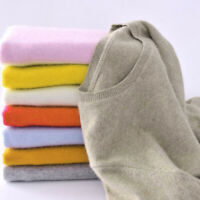 Fashion Women Cashmere Sweater Winter Warm Pullover Solid Knitted Tops 7Colors n