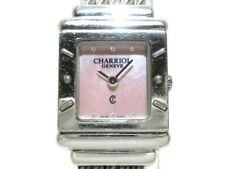 Auth PHILIPPE CHARRIOL St-Tropez Square Silver 1.20476 Womens Wrist Watch