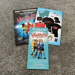 Heathers The Musical Flyers! West End 2018, 2021 And Tour 2021!