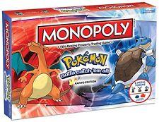Hasbro Pokemon Monopoly Kanto Edition Board Game
