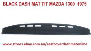 DASH MAT,BLACK DASHMAT FIT MAZDA  1300  1975, BLACK
