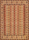 Hand-knotted Rug (Carpet) 4'1X5'6, Shirvan mint condition