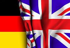 7,7x5,4cm PREMIUM Aufkleber Grossbritannien Union Jack Deutschland Auto Sticker