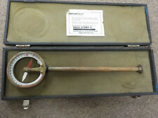 Antique Magnetic Dipping Needle Compass Copper Brass Telescoping, Municipal Inst