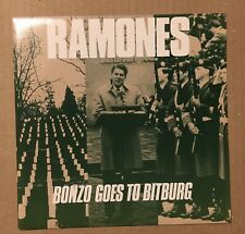 "Ramones - Bonzo Goes To Bitburg UK 7"" P/S"