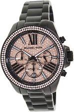 Michael Kors Wren MK5879 Pave Rose Gold-Tone 42mm Dial Chronograph Women Watch