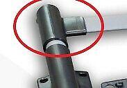 Rear Cross Bar to Rail Plastic - Right  for Nissan Navara D40 bar rack adventura