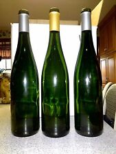 Lot of (48) empty WINE BOTTLES-Emerald Green--Riesling Style