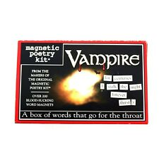 Magnetic Poetry Kit - Vampire