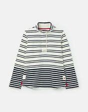 Joules Womens 211149 Classic Sweatshirt - Cream Navy Stripe