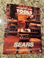 Vintage Sears Craftsman 1991-1992 Power and Hand Tools Catalog
