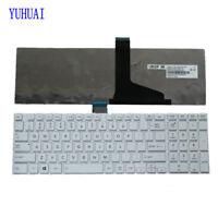For Toshiba Satellite L850 L850D L855 L855D Qosmio X870 X875 Keyboard US White