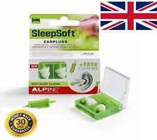 lAlpine SleepSoft Ear Plugs - Reduce snoring and Improves Sleep - Soft Filters