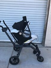 Orbit G3 Black Standard Single Seat Stroller W/ G3 Car Seat Base (Manual)