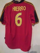 España euro 2000-2002 Hierro 6 Hogar Camiseta De Fútbol Talla XL/42030
