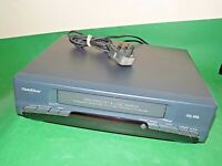 GOLDSTAR S12I VCR VHS VIDEO CASSETTE RECORDER Vintage Black FAULTY SPARES