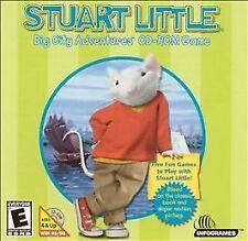 Stuart Little: Big City Adventures CD-ROM Game Jewel Case (PC, 1999)