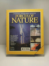 National Geographic Forces of Nature PC CD Storms Volcanoes