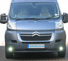 LED Day Running Lights Kit DRL Citroen Relay Van and Motorhome 2007 to 2014