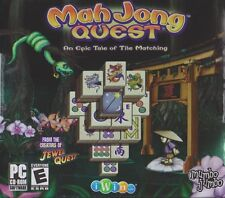 Mah Jong Quest 1 PC Games Windows 10 8 7 XP Computer puzzle mahjong jewel quest