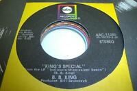 Blues Unplayed NM! 45 B. B. KING King's Special on ABC