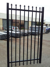 Securitygate,Tubular Fencing  steel  Black Fence Panels- $450.00