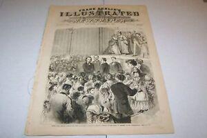 NOV 13 1869 FRANK LESLIES ILLUSTRATED - Henry Beecher