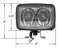 Work Lamp Head Light For Bobcat Hitachi Volvo Case IH JCB John Deere Skid Steer