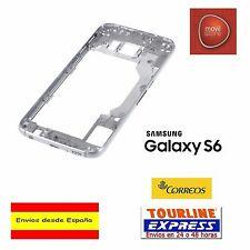Carcasa trasera marco gris chasis para Samsung Galaxy S6 Sm-g920f G920 G920f