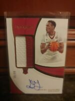 DANIEL GAFFORD Panini Immaculate 2019-20 Rookie Patch Auto RPA RC 36/99