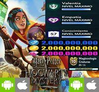 Harry Potter Hogwarts Mystery - libros gemas monedas coins max - iOS / Android