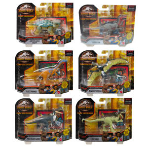 Jurassic World Dinosaur Figure Camp Cretaceous Attack Pack Choice of Character