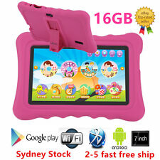 "7"" Quad Core Tablet for Kids Google Android 4.4 8GB Dual Camera Children SAA"
