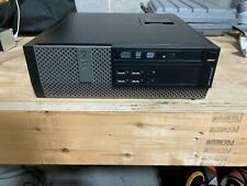 Dell 990 SFF i5 with an Intel 2500 @ 3.1 GHz a 500 GB Hard Drive and 8 GB of Mem