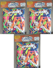 Pepperell Loom Loops for Pot Holders Hair Ties Weaving 750 pc Polyester (3 bags)
