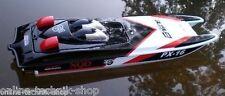 RC Rennboot Katamaran 2,4 GHZ Lipo 2x 390er Motor 80cm Speedboot