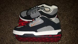 VANS NEW Camacho Mens 12 Vintage Skate BMX Shoe Sneaker Rare Black Grey Orange
