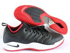 Men's Nike Air Zoom Oscillate XX Tennis Shoes Black White Red 918195 100 sz 11.5