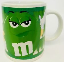 Ms Green M & M Collectors Mug By Galerie 2002 Coffee Cup M&M Mars Company